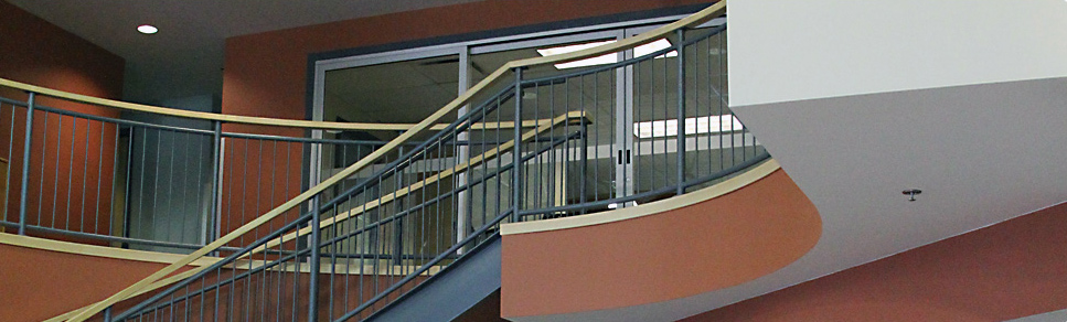 Flex board and stairwell